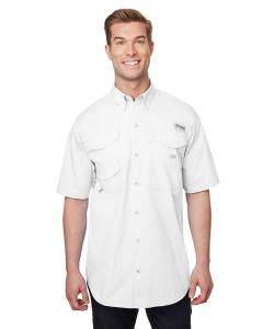 White Men's Bonehead™ Short-Sleeve Shirt