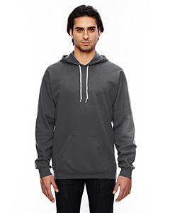 Charcoal Adult Pullover Hooded Fleece