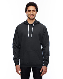 Black Adult Pullover Hooded Fleece