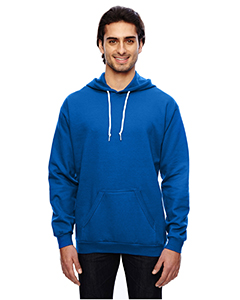 Royal Blue Adult Pullover Hooded Fleece