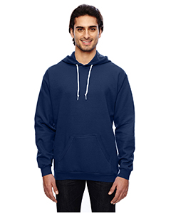 Navy Adult Pullover Hooded Fleece