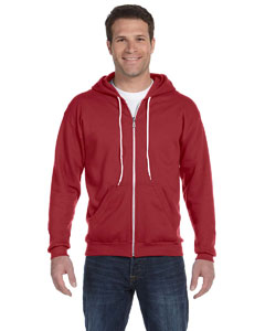 Independence Red Ringspun Full-Zip Hooded Sweatshirt