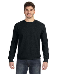 Black Ringspun French Terry Crewneck Sweatshirt