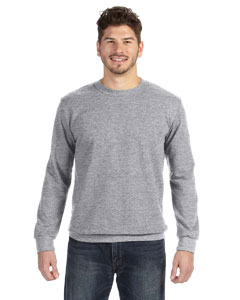 Hthr Dark Grey Ringspun French Terry Crewneck Sweatshirt