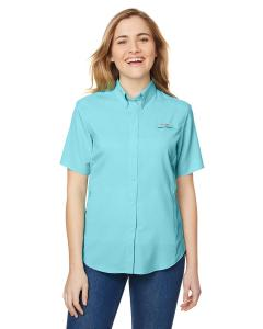 Clear Blue Ladies' Tamiami™ II Short-Sleeve Shirt