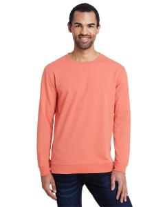 Terracotta Unisex Light Terry Crew