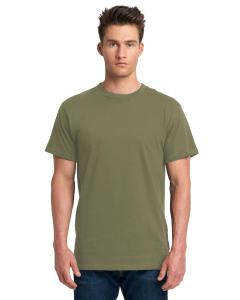 Military Green Adult Power Crew T-Shirt