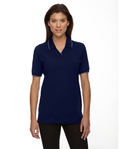 Navy 007 Ladies' Cotton Jersey Polo