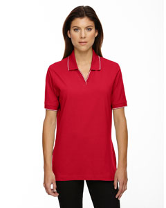 Crimson 780 Ladies' Cotton Jersey Polo