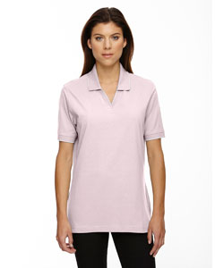 Powder Pink 803 Ladies' Cotton Jersey Polo