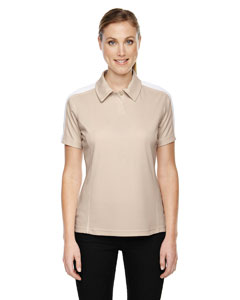 Sand 003 Eperformance™ Ladies' Piqué Colorblock Polo