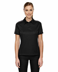 Black 703 Eperformance™ Ladies' Piqué Colorblock Polo