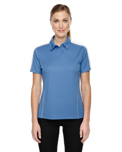 Lake Blue 800 Eperformance™ Ladies' Piqué Colorblock Polo