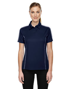 Classic Navy 849 Eperformance™ Ladies' Piqué Colorblock Polo