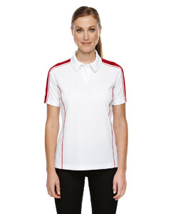 Classic Red 850 Eperformance™ Ladies' Piqué Colorblock Polo