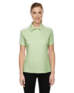 Lime Shrbrt 893 Eperformance™ Ladies' Piqué Colorblock Polo