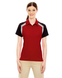 Classic Red 850 Edry® Ladies' Colorblock Polo