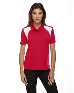 Classic Red 850 Eperformance™ Ladies' Colorblock Textured Polo