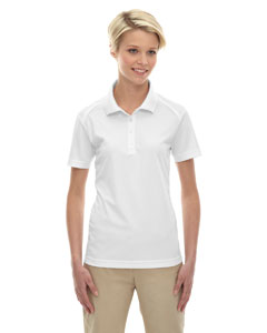 White 701 Eperformance™ Ladies' Shield Snag Protection Short-Sleeve Polo