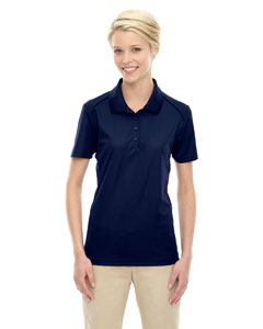 Classic Navy 849 Eperformance™ Ladies' Shield Snag Protection Short-Sleeve Polo