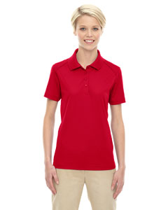 Classic Red 850 Eperformance™ Ladies' Shield Snag Protection Short-Sleeve Polo