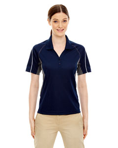 Classic Navy 849 Eperformance™ Ladies' Parallel Snag Protection Polo with Piping