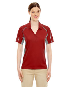 Classic Red 850 Eperformance™ Ladies' Parallel Snag Protection Polo with Piping