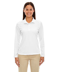 White 701 Eperformance™ Ladies' Armour Snag Protection Long-Sleeve Polo
