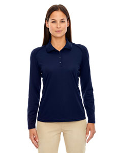 Classic Navy 849 Eperformance™ Ladies' Armour Snag Protection Long-Sleeve Polo