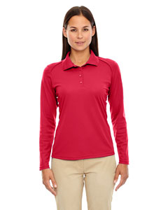 Classic Red 850 Eperformance™ Ladies' Armour Snag Protection Long-Sleeve Polo