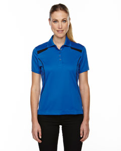 Nauticl Blue 413 Eperformance™ Ladies' Tempo Recycled Polyester Performance Textured Polo