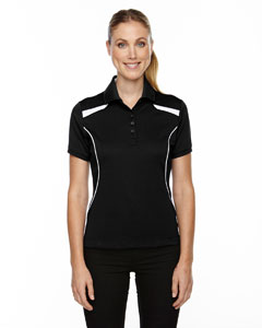 Black 703 Eperformance™ Ladies' Tempo Recycled Polyester Performance Textured Polo