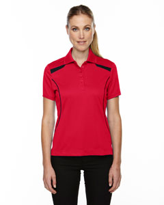 Classic Red 850 Eperformance™ Ladies' Tempo Recycled Polyester Performance Textured Polo