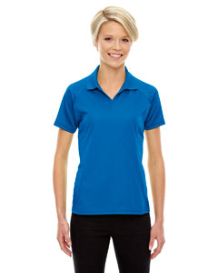 Nauticl Blue 413 Eperformance™ Ladies' Stride Jacquard Polo