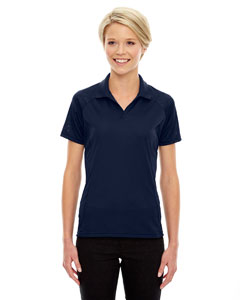 Classic Navy 849 Eperformance™ Ladies' Stride Jacquard Polo