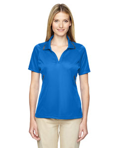 Lt Naut Blu 417 Eperformance™ Ladies' Propel Interlock Polo with Contrast Tape