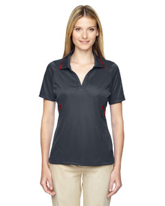 Carbon 456 Eperformance™ Ladies' Propel Interlock Polo with Contrast Tape