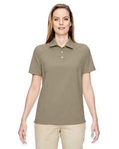 Stone 019 Ladies' Excursion Crosscheck Woven Polo