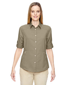 Stone 019 Ladies' Excursion Concourse Performance Shirt