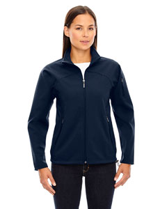 Midn Navy 711 Ladies' Three-Layer Fleece Bonded Performance Soft Shell Jacket