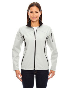 Natrl Stone 820 Ladies' Three-Layer Fleece Bonded Performance Soft Shell Jacket