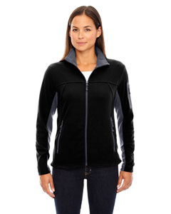 Black 703 Ladies' Microfleece Jacket