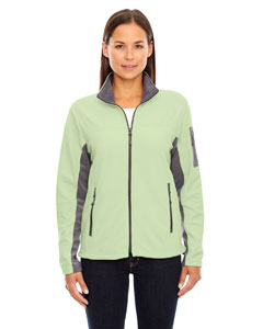 Lime Shrbrt 893 Ladies' Microfleece Jacket