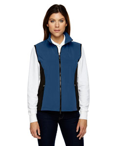 Regata Blue 815 Ladies' Three-Layer Light Bonded Performance Soft Shell Vest