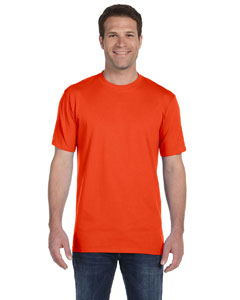 Orange Ringspun Midweight T-Shirt
