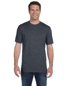 Heather Dk Grey Ringspun Midweight T-Shirt