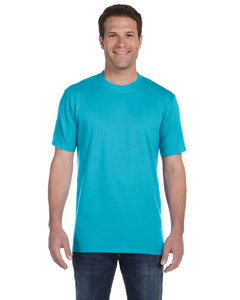 Pool Blue Ringspun Midweight T-Shirt