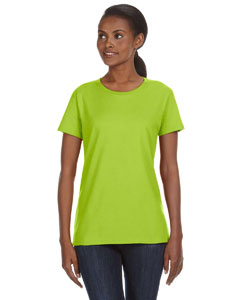 Key Lime Ladies' Ringspun Midweight Mid-Scoop T-Shirt