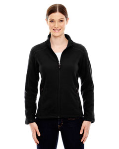 Black 703 Ladies' Voyage Fleece Jacket