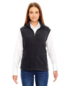 Hthr Chrcl 745 Ladies' Voyage Fleece Vest